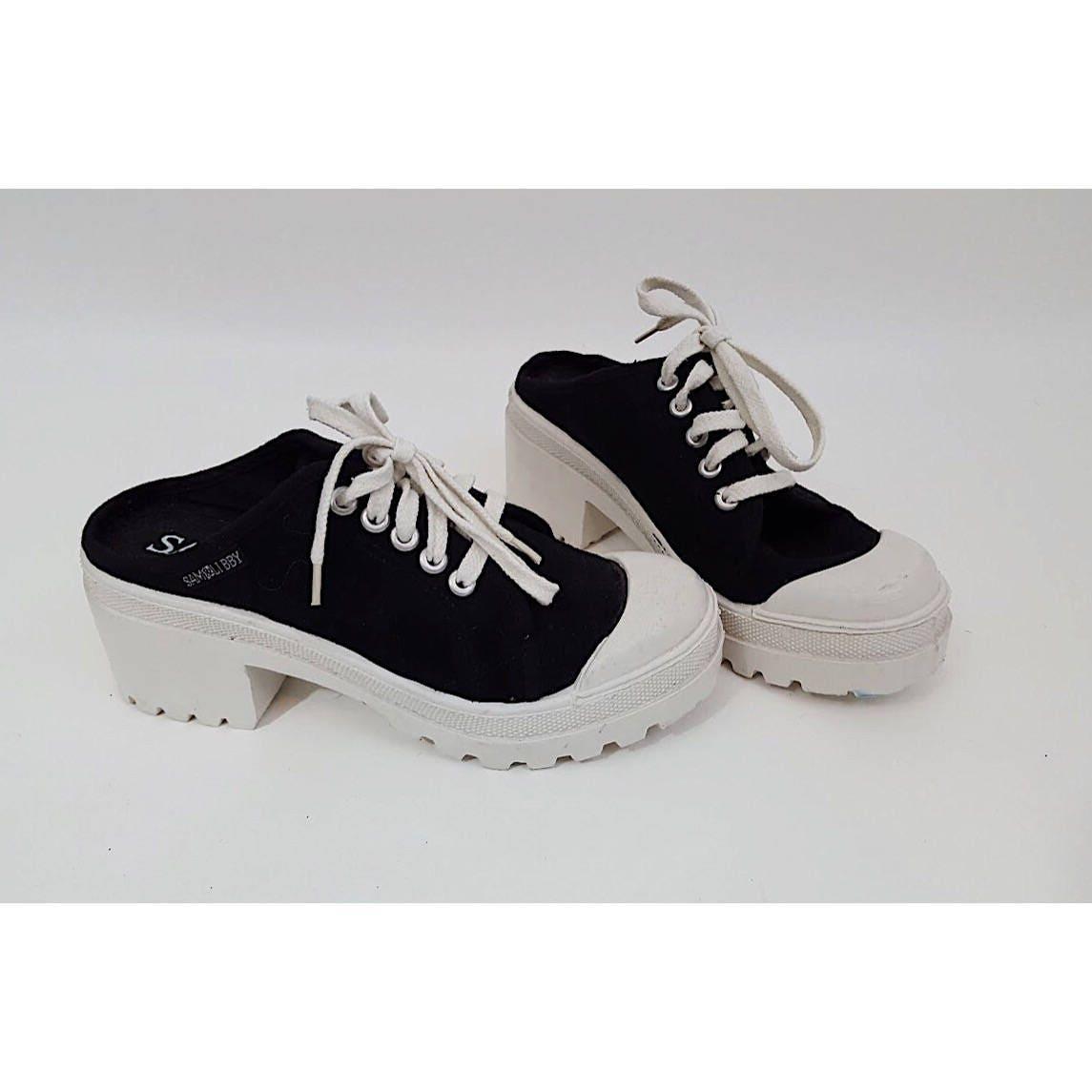 slip on tennis sko no back low price
