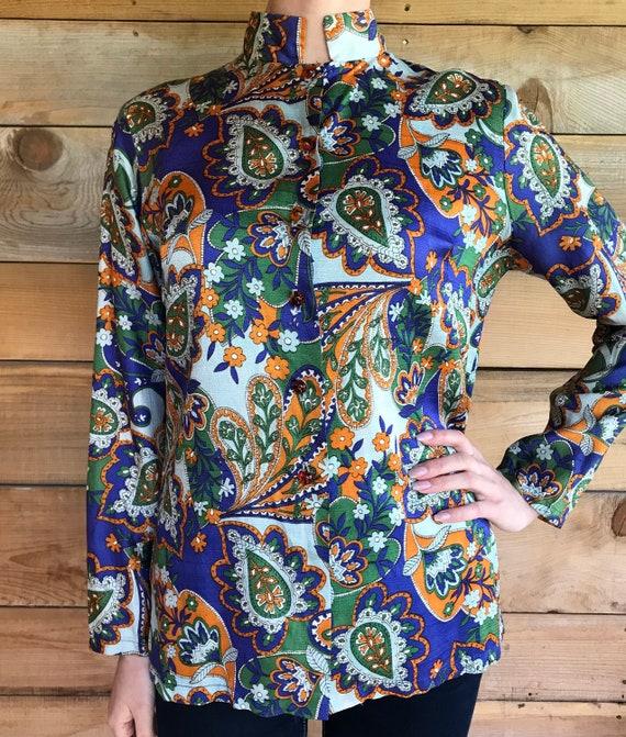 Nehru jacket shirt collar psychedelic sixties 60's