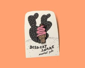 Desssert Snake Pin