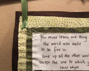David Whyte Quote