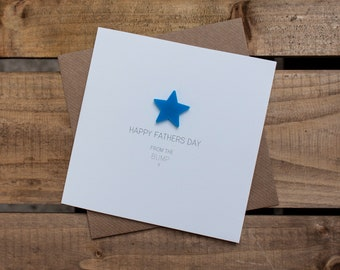 HAPPY FATHERS DAY from the Bump Card with detachable magnet keepsake