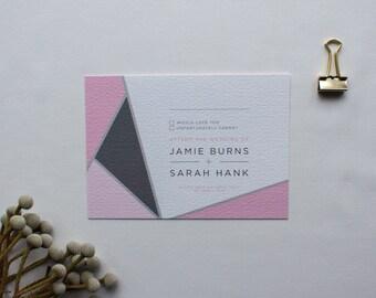 CHLOE // Wedding Stationery // RSVP