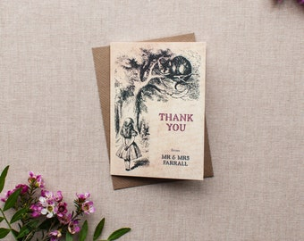 ALICE // Wedding Stationery // Thank You Card