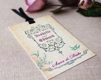 GISELLE // Wedding Stationery // Save The Date