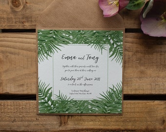 CATALINA // Wedding Stationery // Invitation