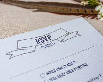 ESTELLE // Wedding Stationery // RSVP