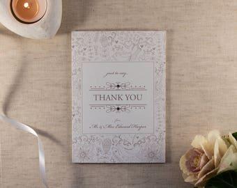 FLORENCE // Wedding Stationery // Thank You Card