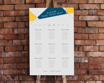 CHLOE // Table Plan // Seating Plan