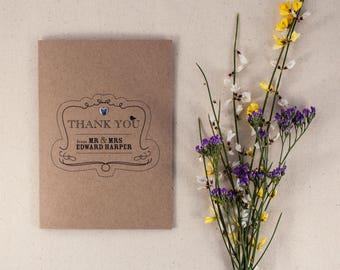 ELSIE // Wedding Stationery // Thank You Card