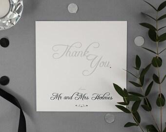 EMMA // Wedding Stationery // Thank You Card