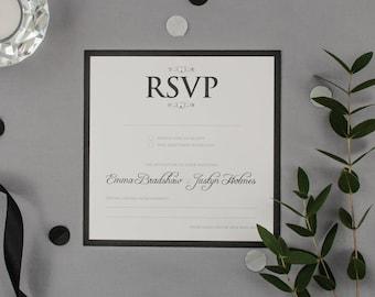 EMMA // Wedding Stationery // RSVP
