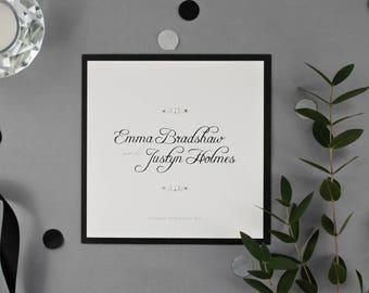 EMMA // Wedding Stationery // Invitation