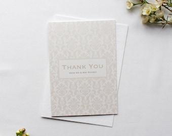 SARAH // Wedding Stationery // Thank You Card