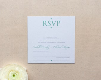 EMILY // Wedding Stationery // RSVP