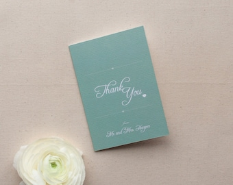 EMILY // Wedding Stationery // Thank You Card