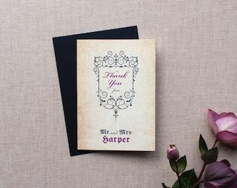 GISELLE // Wedding Stationery // Thank You Card