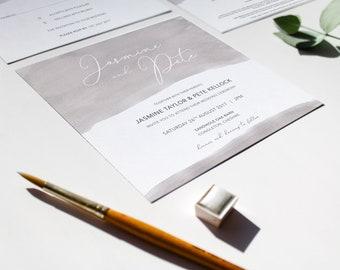 LILY // Wedding Stationery // Invitation