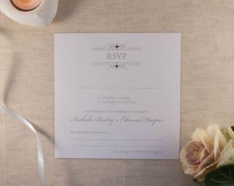 FLORENCE // Wedding Stationery // RSVP