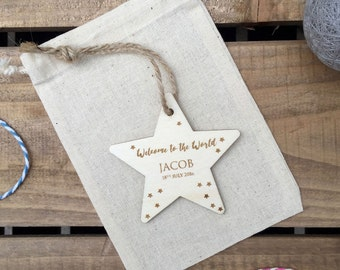 Welcome to the World Personalised Star