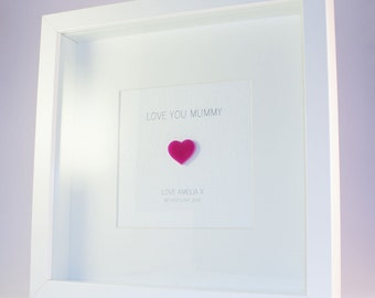 Love You Mummy Personalised Framed Print
