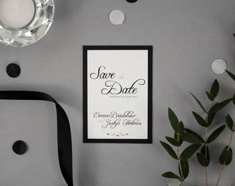 EMMA // Wedding Stationery // Save the Date