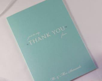 TALIA // Wedding Stationery // Thank You Card