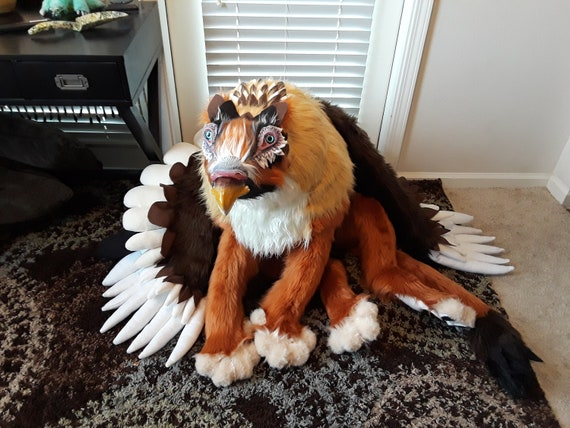 15 Off Clearance Sale Giant Griffin Artdoll Huge Plush Etsy