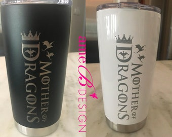 20 oz Engraved Travel Tumblers