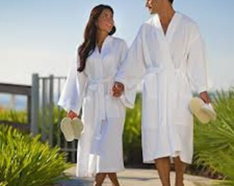 Set of 2 COUPLES PERSONALIZED Robes f05771c84