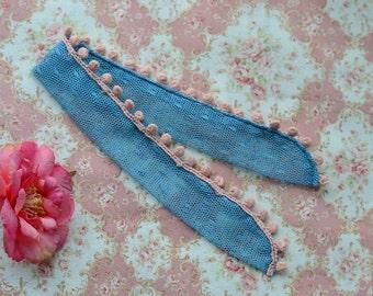 Scarf for doll 1/4 MSD bjd CandyDoll