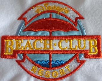 "Applikation / Patch ""Beach Club"""