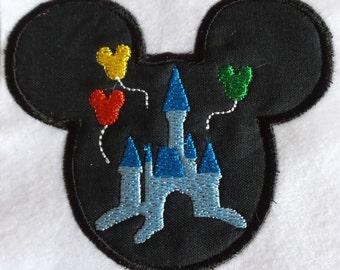 "Applikation / Patch ""Mr. Mouse or Mrs. Mouse Castle"""