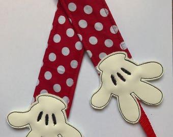 "Camera Strap ""Hands  Mickey """