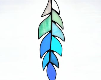 Stained Glass Cayman Kai Feather in Beachy Palette