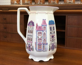 Lenox Fine Porcelain 72 oz Village Pitcher