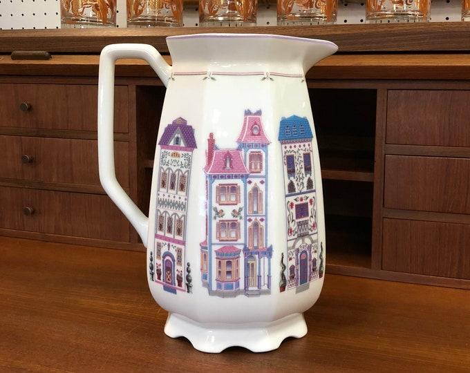 Lenox Fine Porcelain 72 oz Village Pitcher
