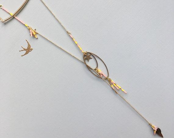 Bijoux de dos/Sautoir Ophelia