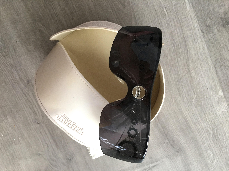 Jean Paul Gaultier mask sunglasses Gaultier shield glasses
