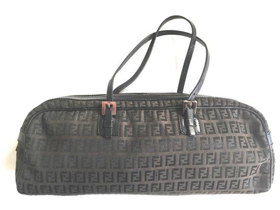 Fendi zucca rectangular bag Fendi zucca purse zucc