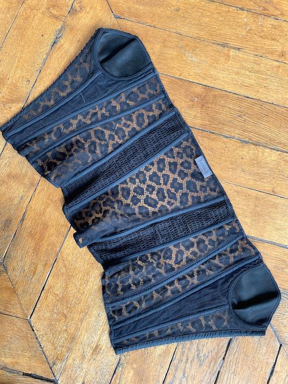 La Perla lace bustier La Perla black lace corset … - image 7