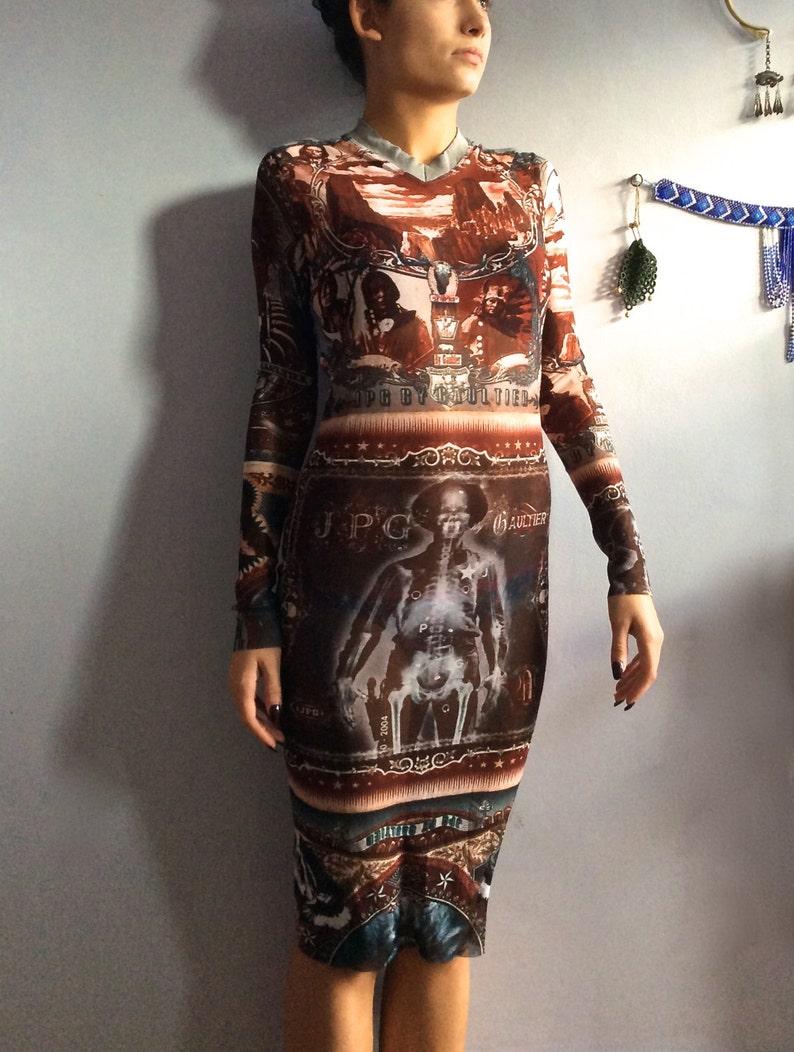 Jean Paul Gaultier dress Indian chief vintage JPG Jean s  67036a5dc
