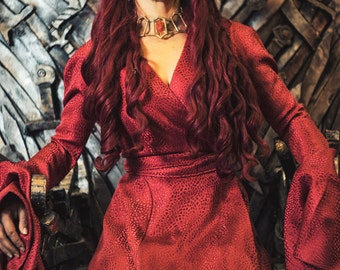 Melisandre  Costume  Game of ThronesSeason 3 Style