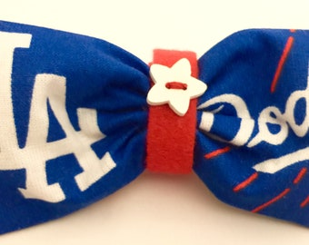 LA Dodgers Bow Tie for your Dog
