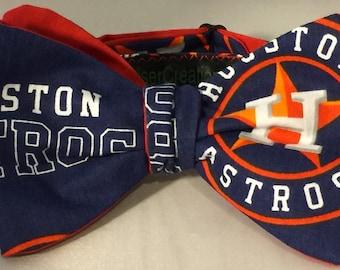 Houston Astros Bowtie