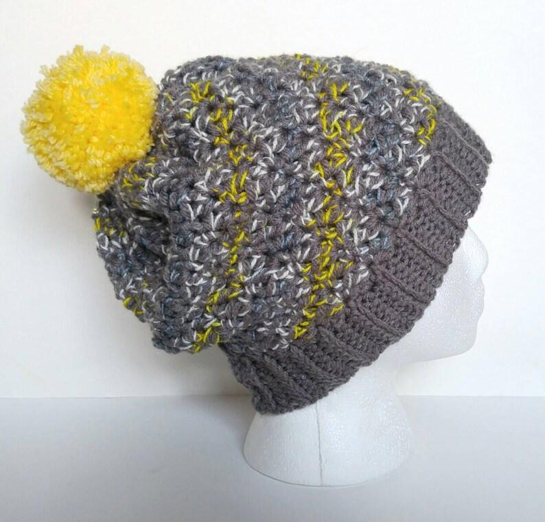 hat Crocheted beanie slouchy beanie beanie Crochet  beanie warm beanie winter hat Crochet hat chunky handmade