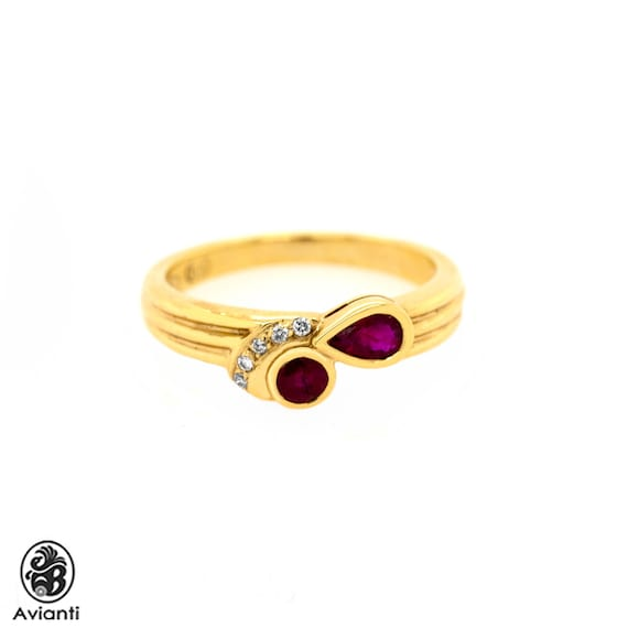 Ruby Ring, Thai Ruby Ring, Pigeon Red Ruby Ring, D