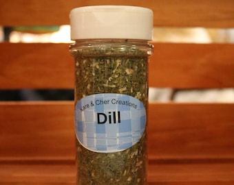 Dill Seasoning Jar & Veggie Dip Mix