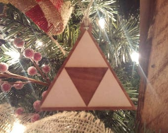 Legend of Zelda - Triforce Christmas Ornament