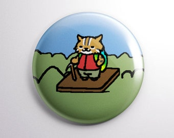 NEKO ATSUME Pickles the Cat 1 Magnet OR pinback | Etsy