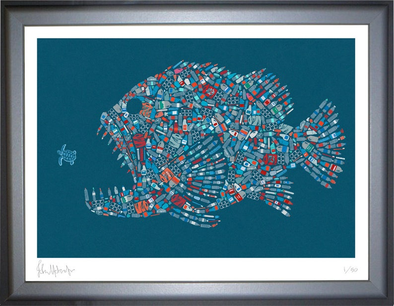 signed limited edition art print conceptual illustration image 0